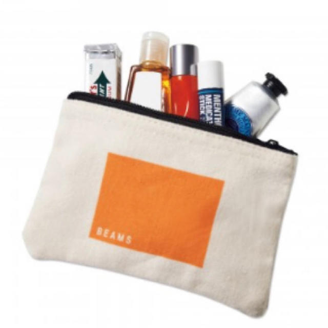 BEAMS(ビームス)のsmart 5月号 付録 ショルダーストラップ付き トートバッグ&ポーチ メンズのバッグ(トートバッグ)の商品写真