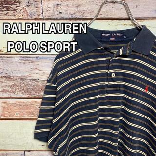 Ralph Lauren - POLO ポロスポーツ  ポロシャツ ボーダー