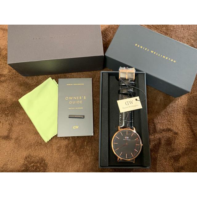 Daniel Wellington - 【新品】ダニエルウェリントン 腕時計 40mm DW00100129 ブラックの通販 by ぴーより's shop|ダニエルウェリントンならラクマ