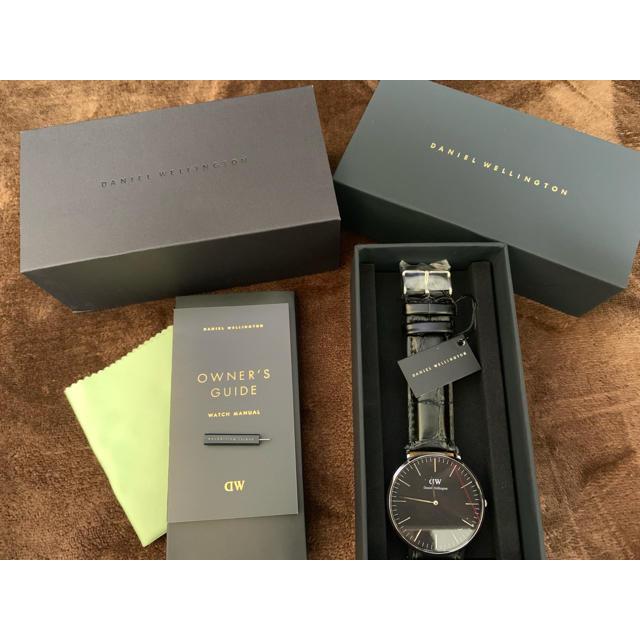 Daniel Wellington - 【新品】ダニエルウェリントン 腕時計 40mm ブラック DW00100135の通販 by ぴーより's shop|ダニエルウェリントンならラクマ