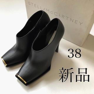 ステラマッカートニー(Stella McCartney)の新品 38./ブラック ステラ マッカートニー ブーティ ショート ブーツ(ブーティ)