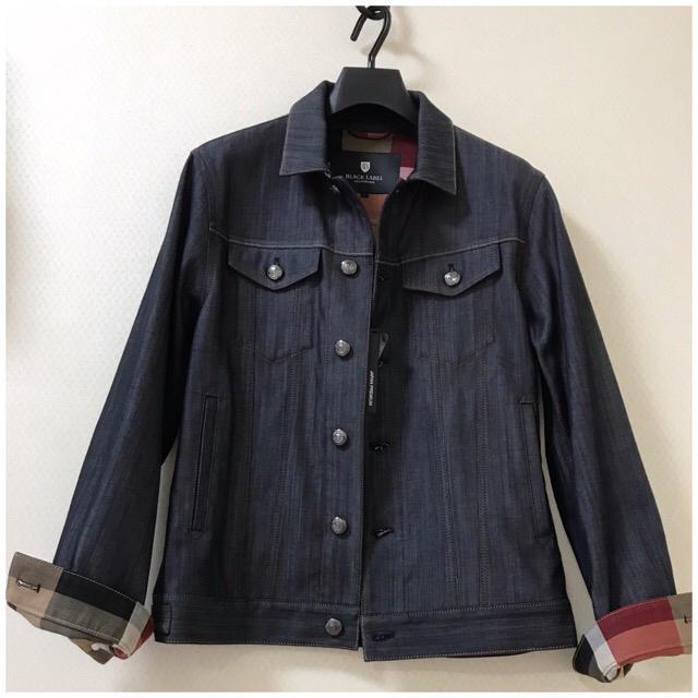 BLACK LABEL CRESTBRIDGE(ブラックレーベルクレストブリッジ)の【新品】ブラックレーベルクレストブリッジ   日本製  Gジャン  サイズM メンズのジャケット/アウター(Gジャン/デニムジャケット)の商品写真