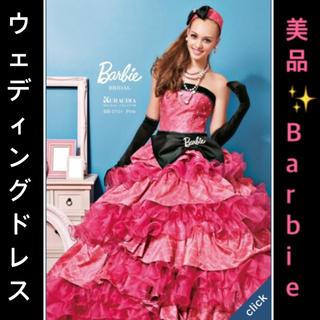 Barbie - barbie ウェディングドレス 小物付き 5点セット ピンク 黒 転売可能