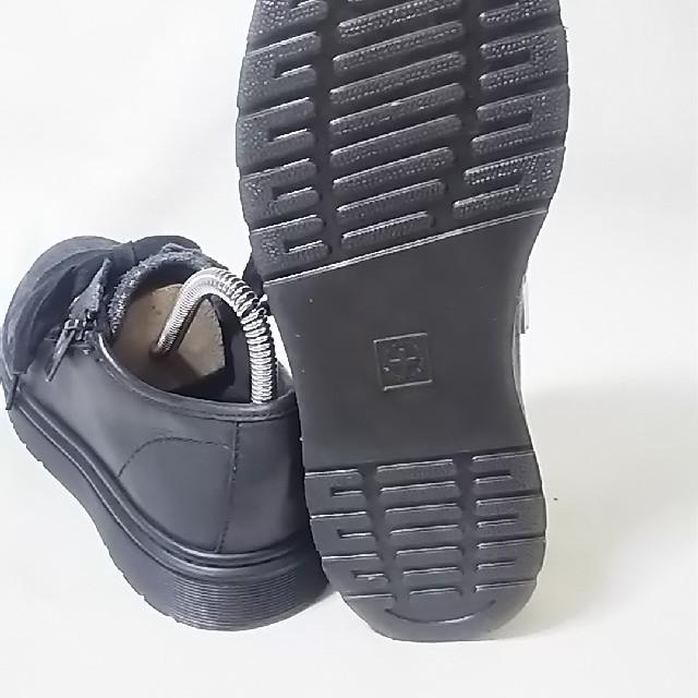 Dr.Martens(ドクターマーチン)の 希少海外限定モデル!ドクターマーチン高級レザージップスニーカー人気黒24    レディースの靴/シューズ(スニーカー)の商品写真