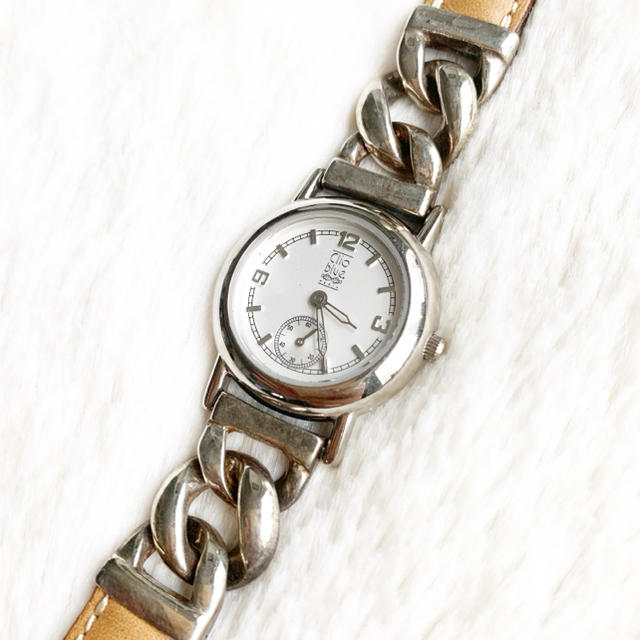 電池交換済み☆ Clio Blue シルバー レディース腕時計の通販 by Pinor's shop|ラクマ