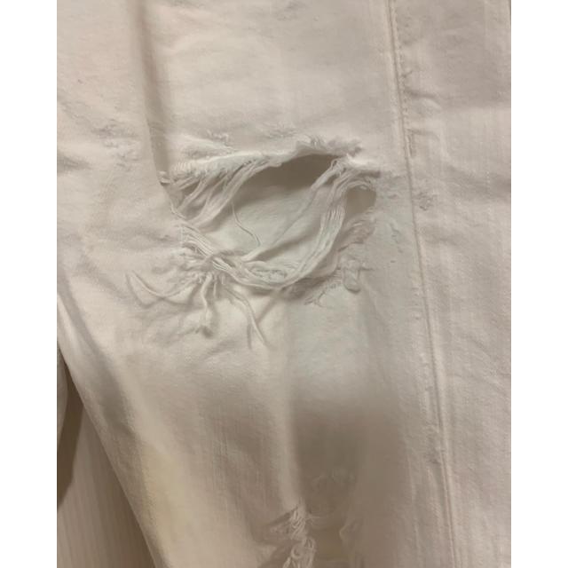 POLO RALPH LAUREN(ポロラルフローレン)のラルフローレン♡ダメージホワイトパンツ25表記 レディースのパンツ(デニム/ジーンズ)の商品写真