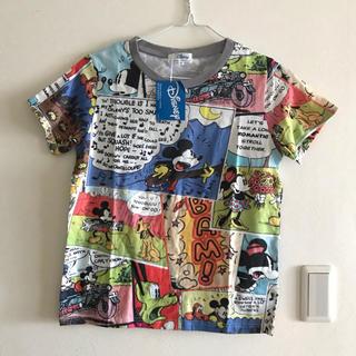 ベルメゾン(ベルメゾン)のディズニー  総柄tシャツ ベルメゾン  Mサイズ(Tシャツ(半袖/袖なし))