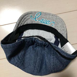 ブリーズ(BREEZE)のベビー 帽子 デニム(帽子)