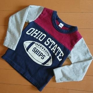 シップス(SHIPS)の【SHIPS】キッズ ロンT ラグビーボール size 90(Tシャツ/カットソー)