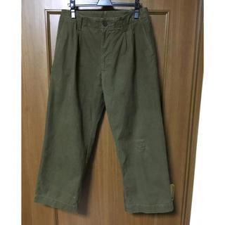 エンジニアードガーメンツ(Engineered Garments)のkuon チェコ軍 テント生地 ワイドパンツ(スラックス)