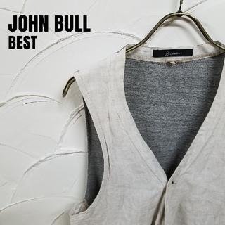 ジョンブル(JOHNBULL)のJONBULL/ジョンブル 麻混 ベスト(ベスト)