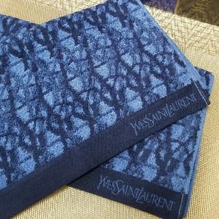 イヴサンローランボーテ(Yves Saint Laurent Beaute)のYSL  フェイス  2枚 今治タオル   【新品】  イヴサンローラン(タオル/バス用品)