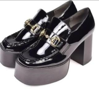 エブリン(evelyn)のevelyn 厚底ローファー(ローファー/革靴)