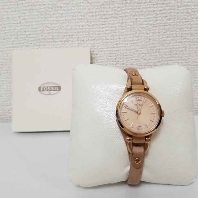 FOSSIL - フォッシル 腕時計 レザーベルトの通販 by shi's shop|フォッシルならラクマ