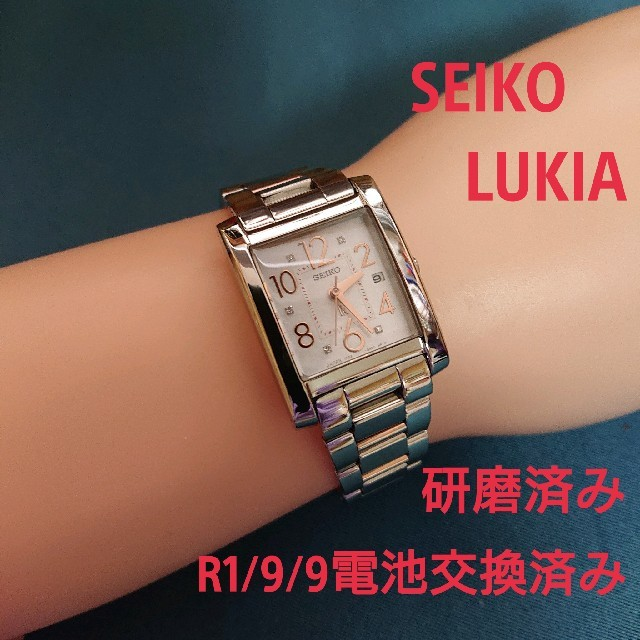 SEIKO - SEIKO LUKIA セイコールキア レディースアナログウォッチの通販 by ヘルパー's shop|セイコーならラクマ