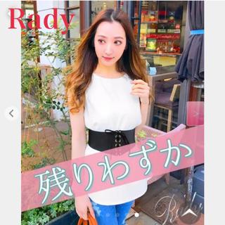 レディー(Rady)のRady/ノースリーブトップス(ベルト付)(チュニック)