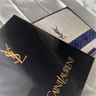 イヴサンローランボーテ(Yves Saint Laurent Beaute)の【新品・未使用】イブサンローラン バスタオル(タオル/バス用品)