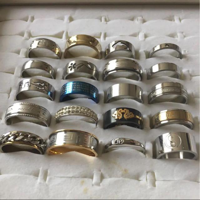 指輪 リング20個 レディースのアクセサリー(リング(指輪))の商品写真