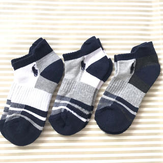 ラルフローレン(Ralph Lauren)のラルフローレン23-26センチ3足セット メンズ キッズ(靴下/タイツ)