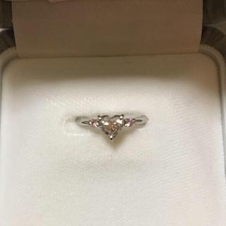 ハートシェイプダイヤモンドリング  (リング(指輪))