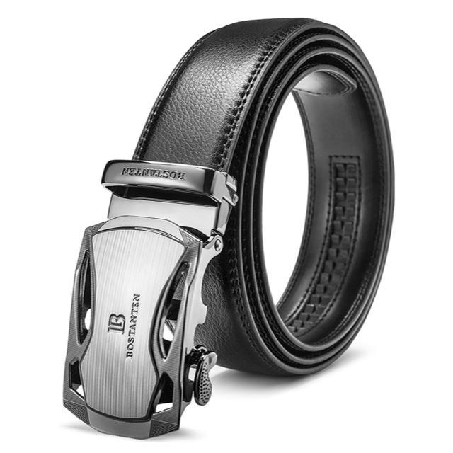 メンズ ベルト バックル オートロック式 メンズのファッション小物(ベルト)の商品写真