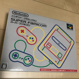 スーパーファミコン(スーパーファミコン)のM4A1さん専用:ニンテンドークラシックミニ スーパーファミコン(その他)