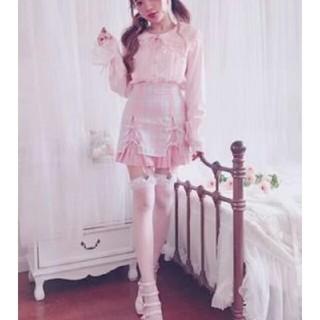 ボボンニジュウイチ(Bobon21)のガーター付きスカート(ミニスカート)