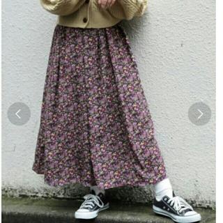 apres jour花柄ロングスカート(ロングスカート)
