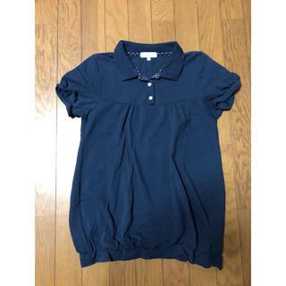 しまむら - ポロシャツ♪紺    美品
