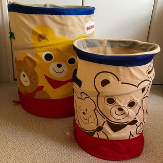 ミキハウス(mikihouse)のミキハウス ボックス おもちゃ入れ 大小セット(知育玩具)