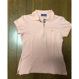 バーバリーブルーレーベル(BURBERRY BLUE LABEL)のポロシャツ♪(ポロシャツ)