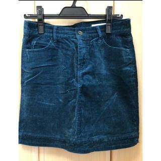 イッカ(ikka)のIkka コーデュロイスカート 膝丈スカート(ひざ丈スカート)