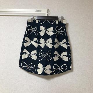 ダズリン(dazzlin)のダズリン リボンタイトスカート(ミニスカート)