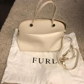 フルラ(Furla)のフルラ バッグ 白 ホワイト 定番 2way(ハンドバッグ)
