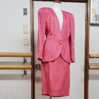 クリスチャンディオール(Christian Dior)のクリスチャンディオール セットアップツーピース 11号 ビィンテージ(スーツ)