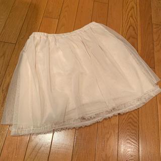 ジーユー(GU)のGU GIRLS チュールスカート 150cm(スカート)