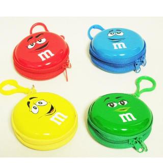 M&M'S❣️缶ポーチ❣️カラフルチョコ❣️小物入れ❣️(小物入れ)