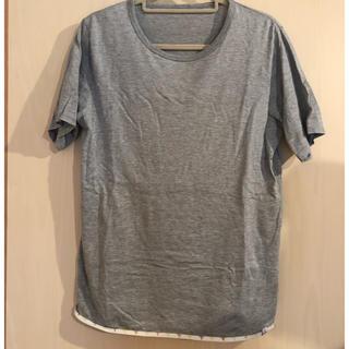 ヴィスヴィム(VISVIM)のvisvim ヴィズヴィム Tシャツ グレー  ビズビム(Tシャツ/カットソー(半袖/袖なし))