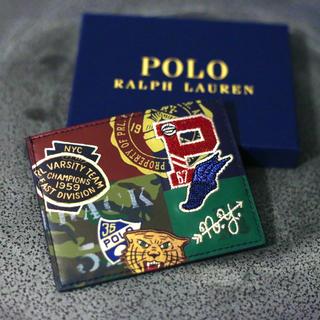 ポロラルフローレン(POLO RALPH LAUREN)のラルフローレン カードケース 新品(名刺入れ/定期入れ)