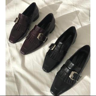 ディーホリック(dholic)のフリンジバックルローファー(ローファー/革靴)
