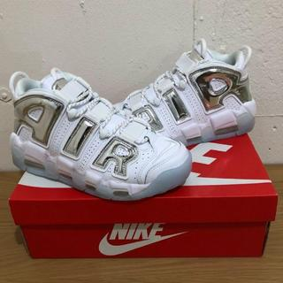 ナイキ(NIKE)の24cm Air More Uptempo Chrome White (W)(スニーカー)