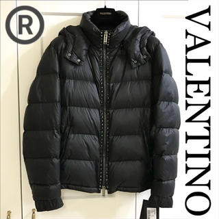 ヴァレンティノ(VALENTINO)の【VALENTINO】ヴァレンティノ ロックスタッズダウンジャケット 新品未使用(ダウンジャケット)