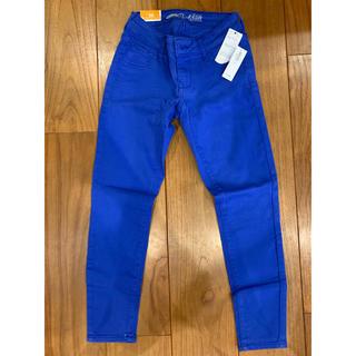 オールドネイビー(Old Navy)のパンツ ズボン スキニー ブルー XS キッズ 子供 140 150 お値引き(スキニーパンツ)