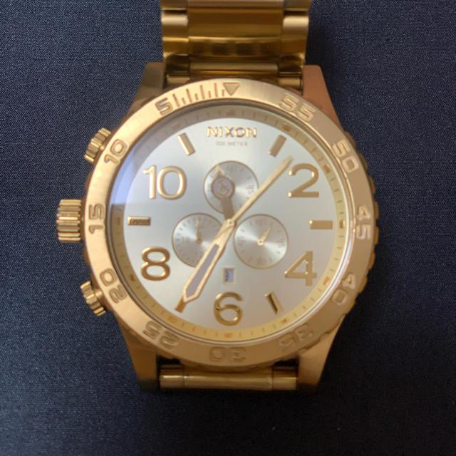 NIXON - ニクソン 腕時計THE 51-30 CHRONO All Goldの通販 by enigma|ニクソンならラクマ