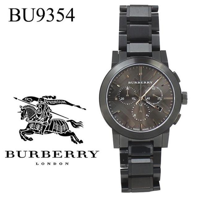 BURBERRY - 未使用 バーバリー クロノグラフ メンズ腕時計 BU9354 ガンメタの通販 by ShinMaki's shop|バーバリーならラクマ