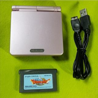 ゲームボーイアドバンス(ゲームボーイアドバンス)の動作正常 ゲームボーイアドバンス AGS-001 #ピンク(携帯用ゲーム機本体)