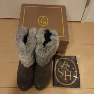 アッシュ(ASH)のASH ショートブーツ 箱&袋つき(ブーティ)