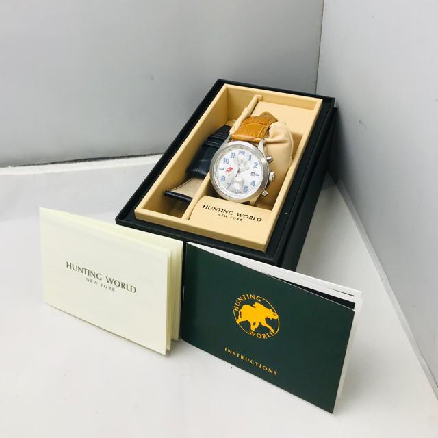 HUNTING WORLD - ☆美品☆  HUNTING WORLD ハンティングワールド 腕時計の通販 by ゆぅ's shop|ハンティングワールドならラクマ