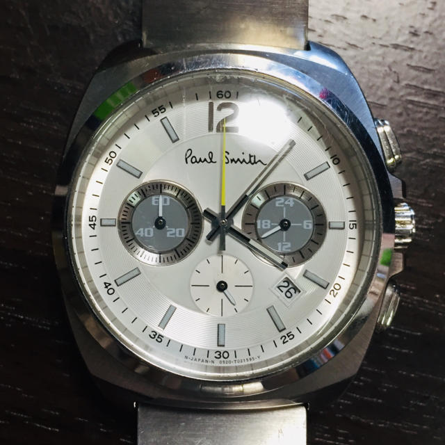 Paul Smith - 【電池新品】Paul Smith WATCH ファイナルアイズの通販 by work.shop|ポールスミスならラクマ