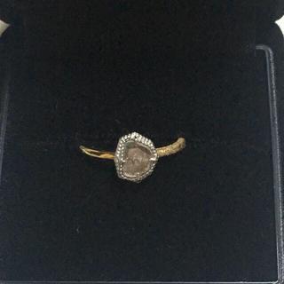 アッシュペーフランス(H.P.FRANCE)のShelby スライスダイヤ ダイヤモンドリング【期間限定お値下げ】(リング(指輪))